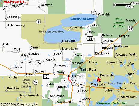 Clearwater County, MNGenWeb Project - Maps on